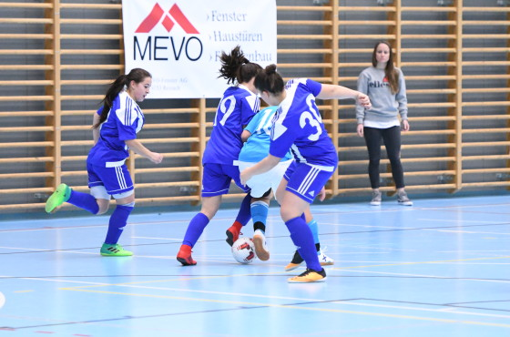 Futsal Masters Women's League 17/18 – 4. Spieltag in Basel