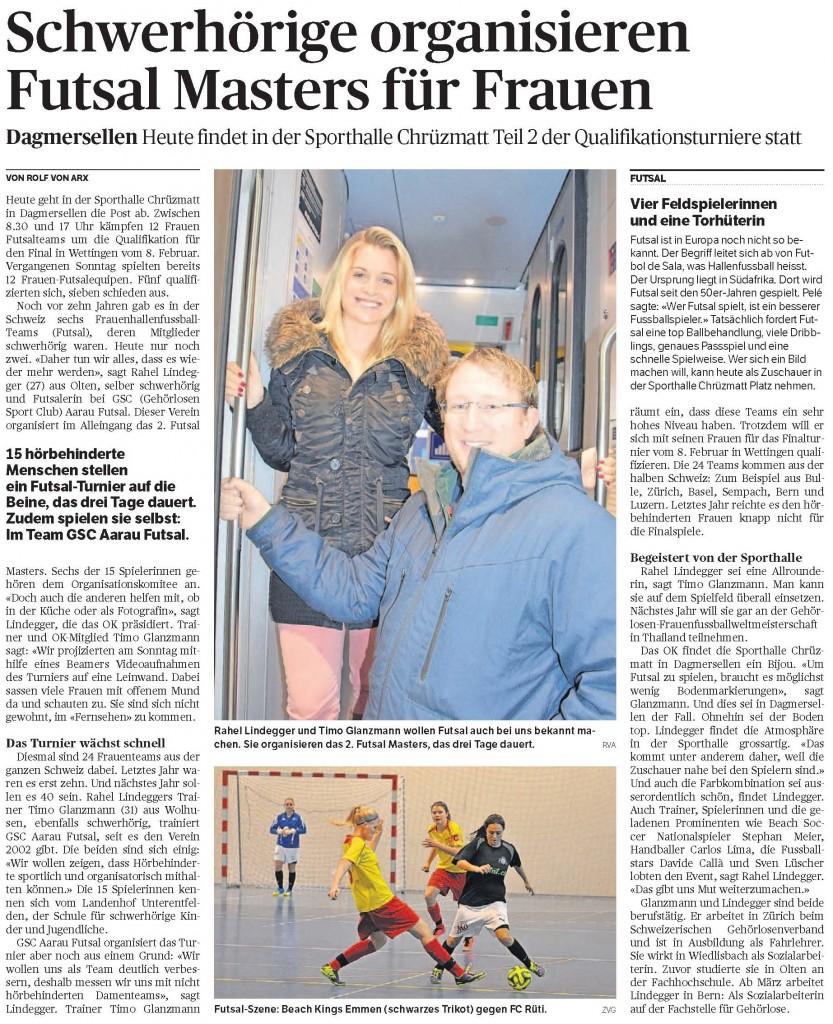 E-Paper-Ausgabe_Luzerner Nachrichten_Samstag, 20 Dezember 2014 - Ausschnitt
